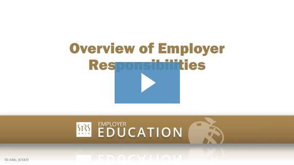 Thumbnail for the 'Overview of Employer Responsibilities' video.