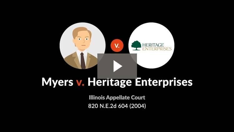 Myers v. Heritage Enters., Inc.