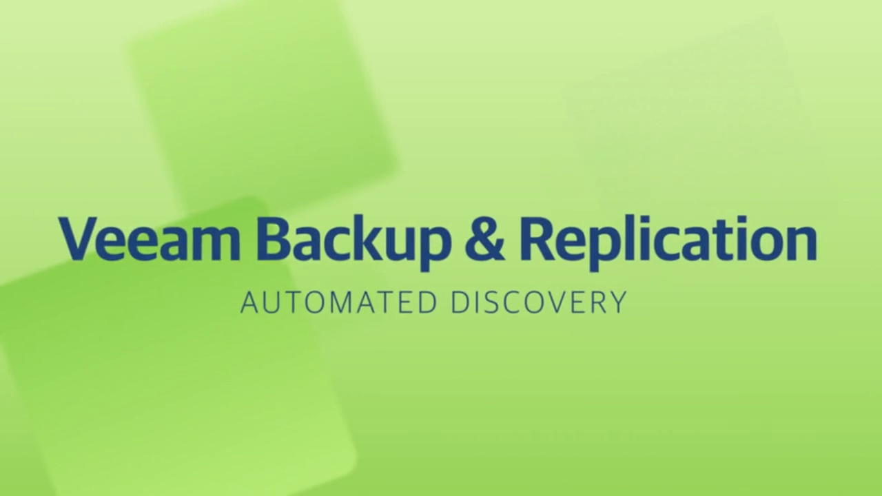 Product launch v11 - VBR - Automated Discovery