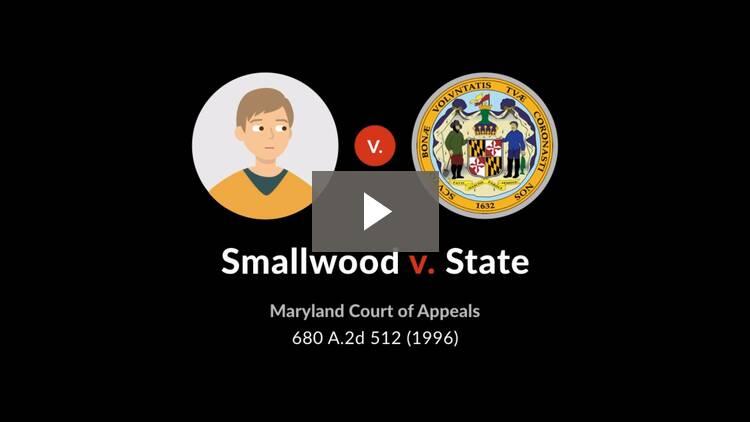 Smallwood v. State