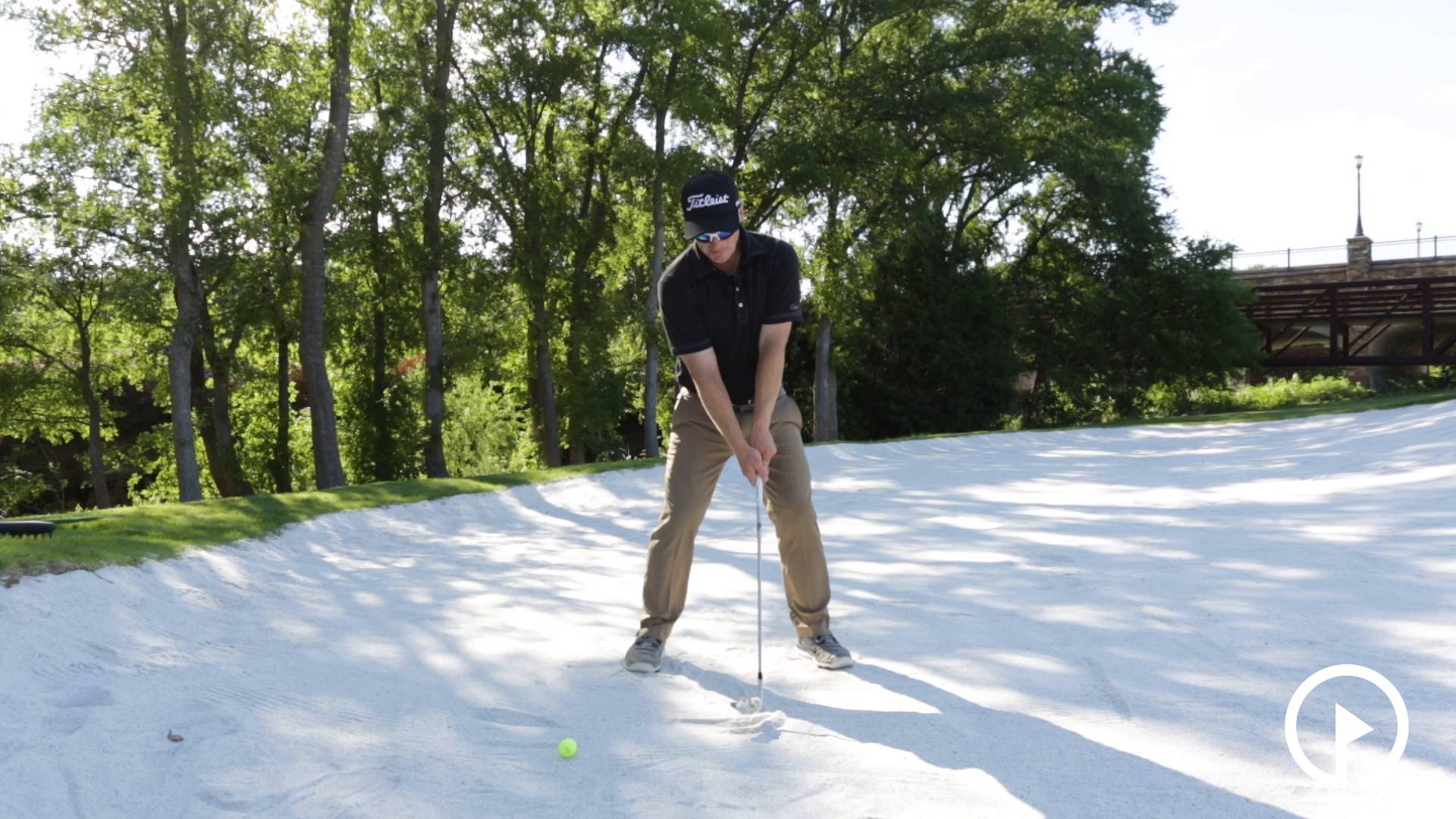 Keep Your Club Face Open in Bunker with the Drill