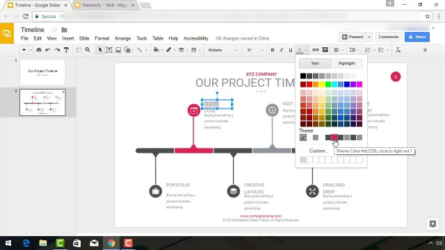 How To Make A Timeline On Google Slides With Templates - Google slides timeline template