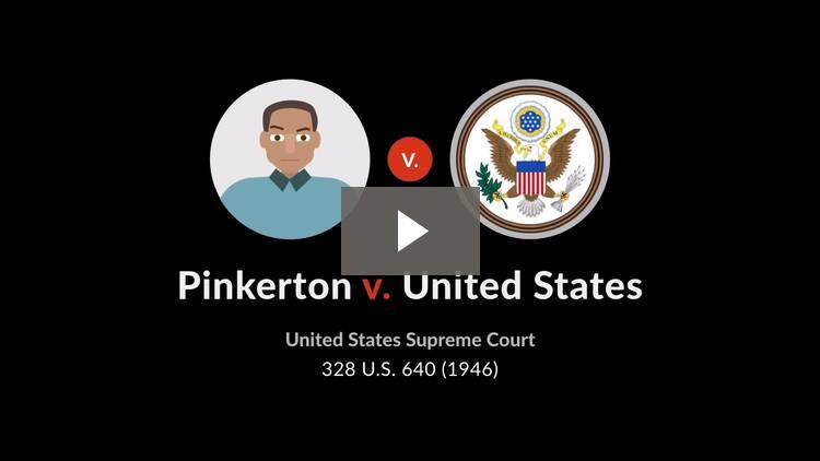 Pinkerton v. United States