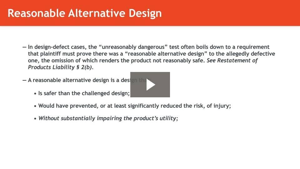 Design Defects