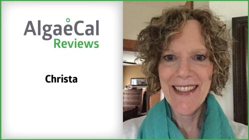 Testimonial thumbnail portrait of Christa