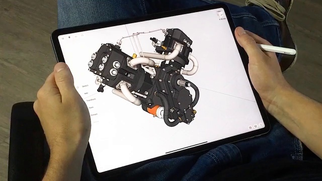 The World S Leading Mobile 3d Design App For Ipad Shapr3d