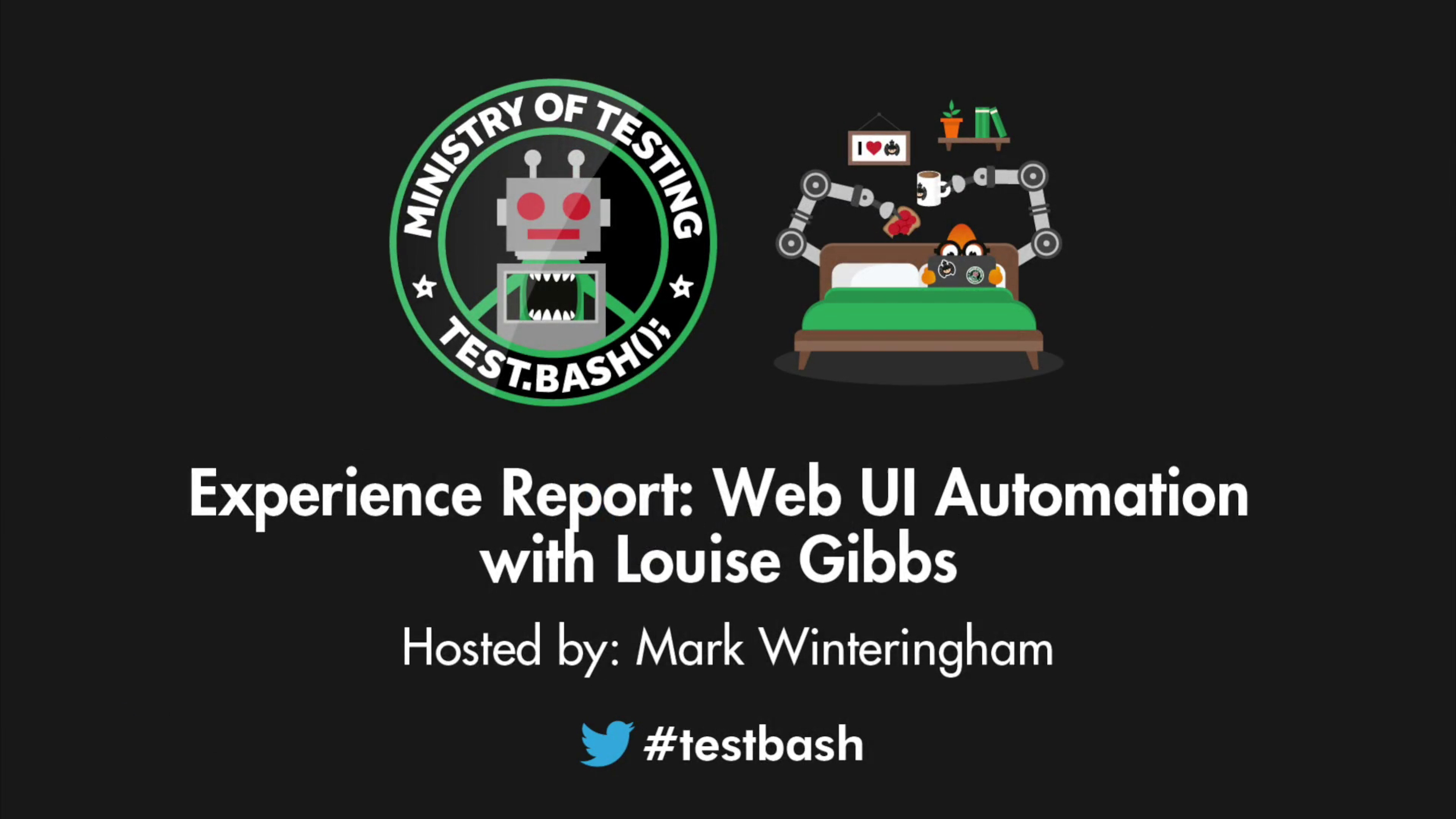 Experience Report: Web UI Automation - Louise Gibbs
