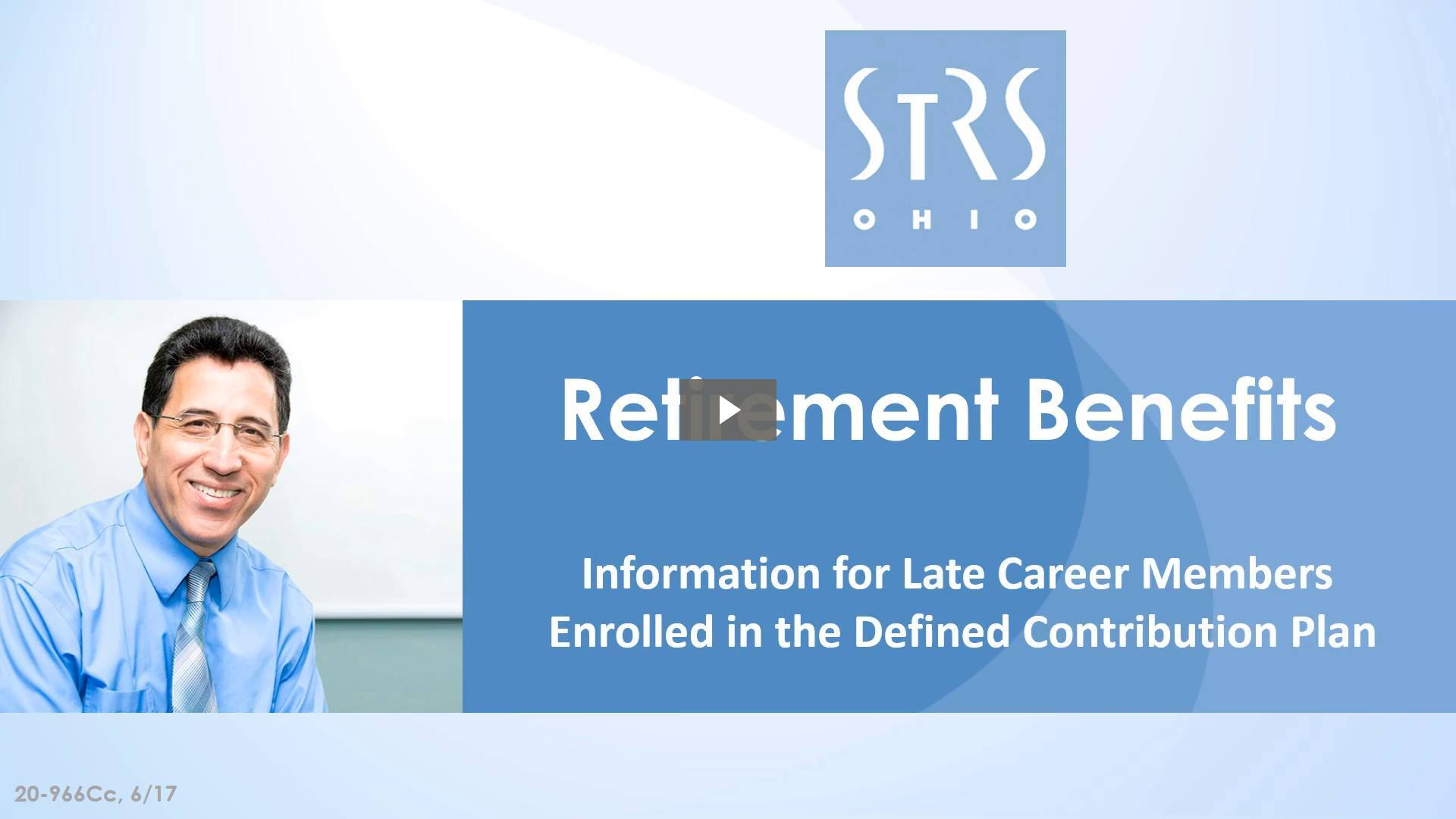 Thumbnail for the 'Retirement Benefits: Defined Contribution Plan' video.