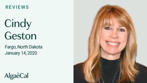 Testimonial thumbnail portrait of Cindy Geston
