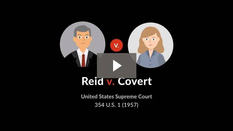 Reid v. Covert