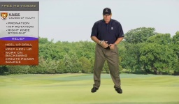 Knee Pain Caused by your Golf Swing? How to Fix Your Swing