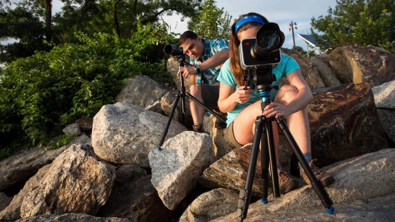 Benro Aero Travel Tripod Kit for Video