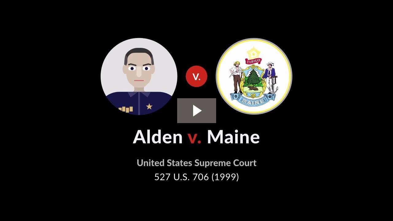 Alden v. Maine