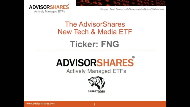Fng New Tech And Media Etf Advisorshares