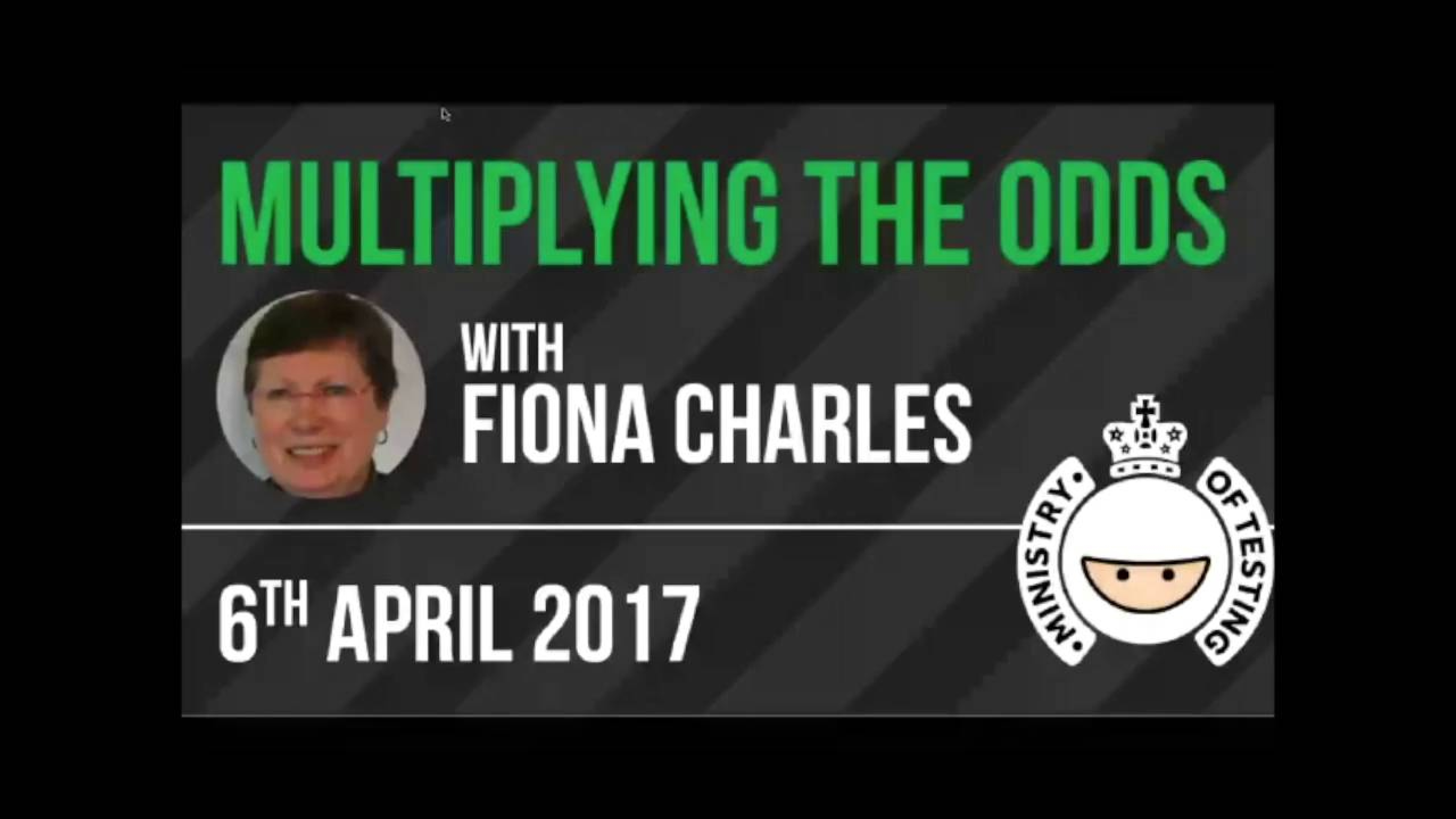 Multiplying the Odds with Fiona Charles