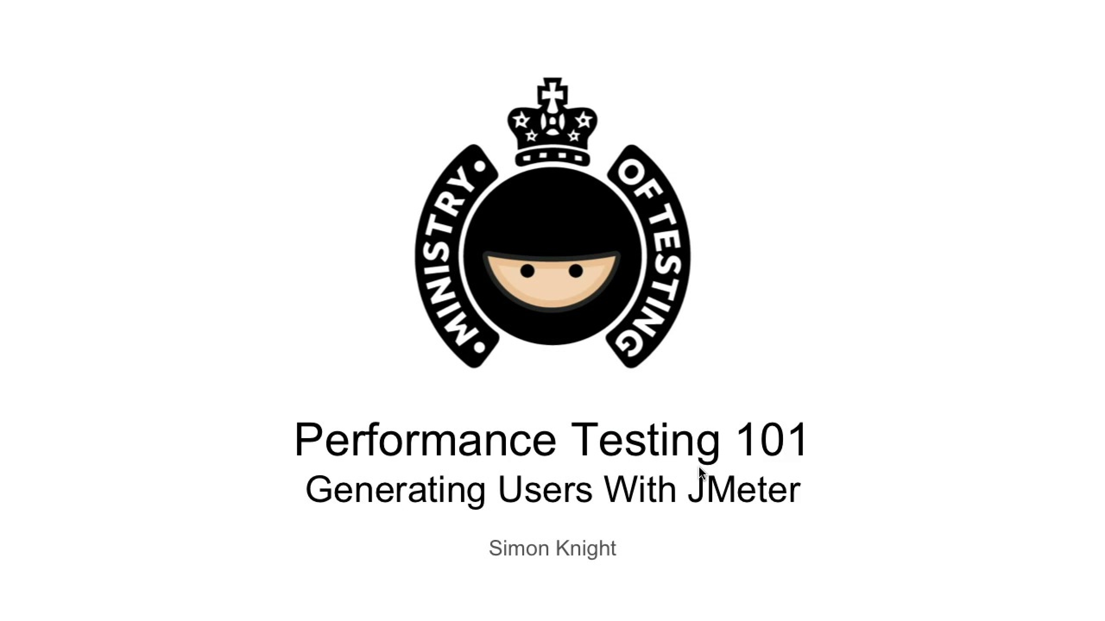 Generating Users With JMeter