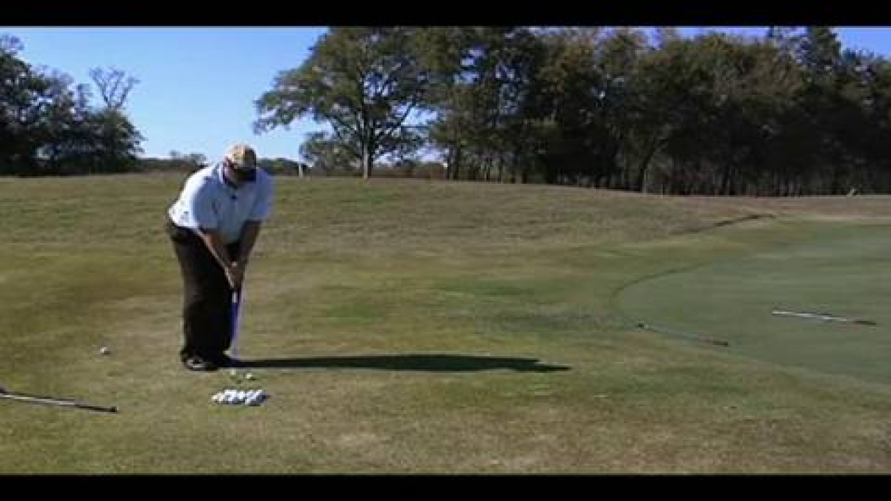 Chipping 2 Club Drill to Improve Distance Control