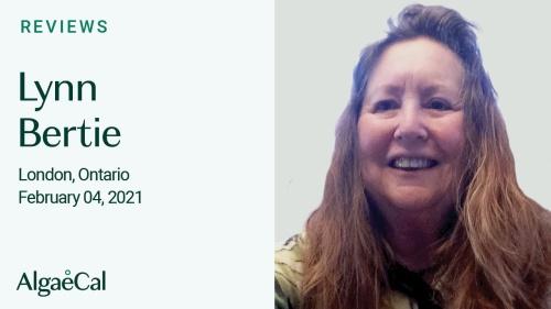 Testimonial thumbnail portrait of Lynn Bertie