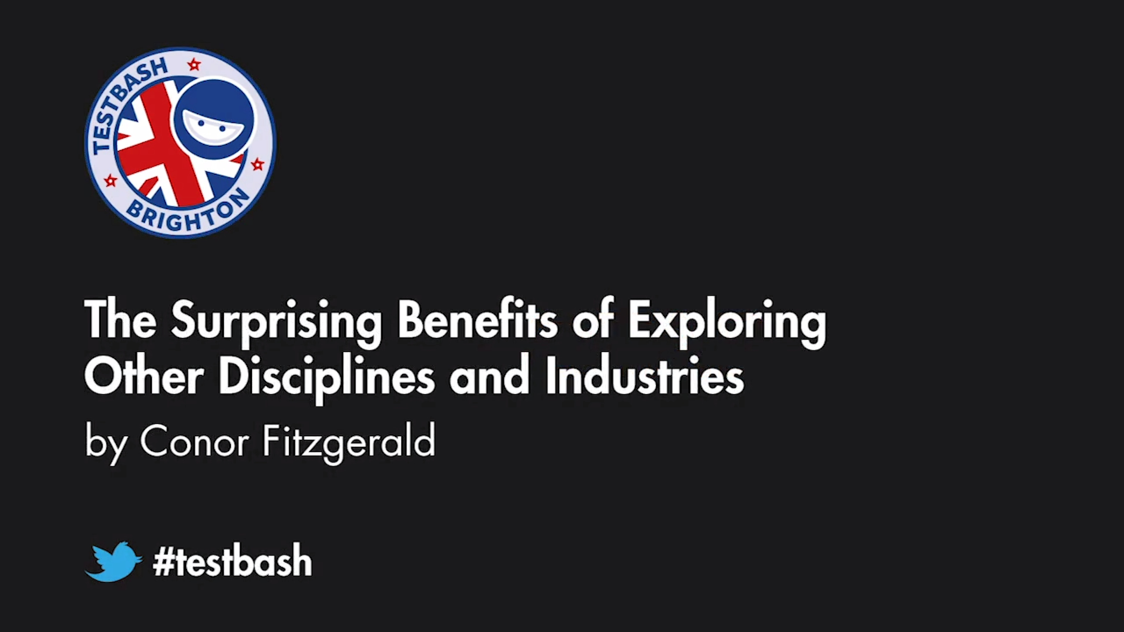 The Surprising Benefits of Exploring Other Disciplines and Industries - Conor Fitzgerald