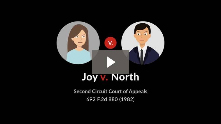 Joy v. North