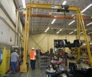 Aplicación en la fabricación de ferrocarriles ligeros
