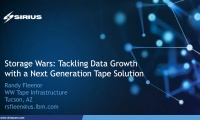 Flash + Tape (Flape): Tackling Data Growth with a Next Generation Tape Solution