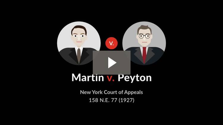Martin v. Peyton