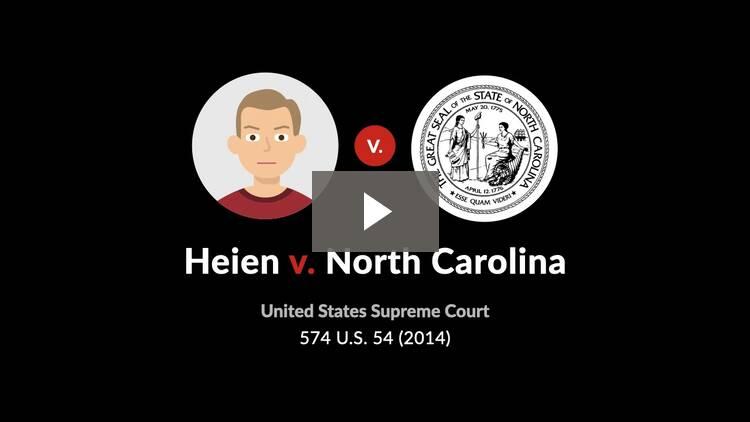 Heien v. North Carolina