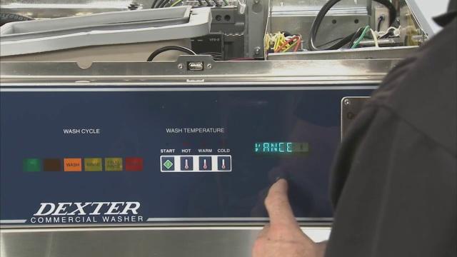 C 系列洗衣机 手动编程