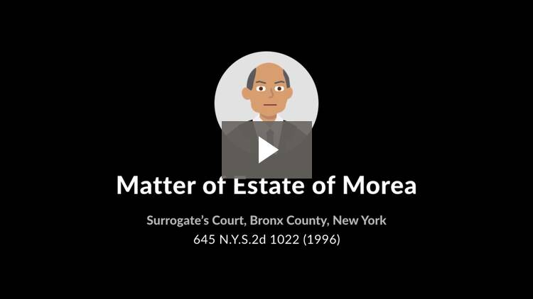 Estate of Morea
