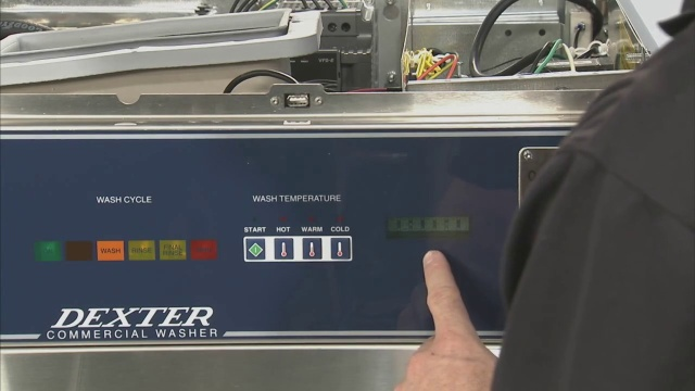 Price Programming Dexter C-Series Vended Washer