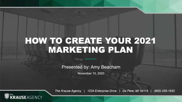 How to Create Your 2021 Marketing Plan