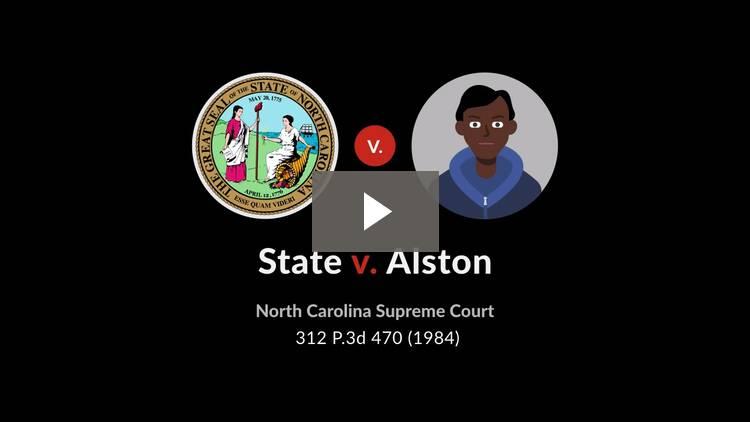 State v. Alston