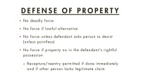 Defense of Others or Property thumbnail