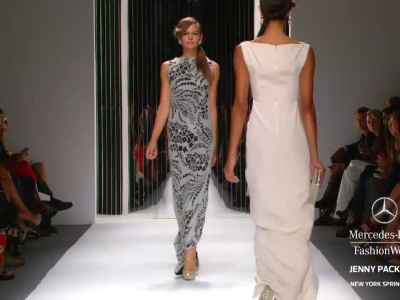 Vestidos de fiesta de Jenny Packham 2013 en Mercedes Benz Fashion Week