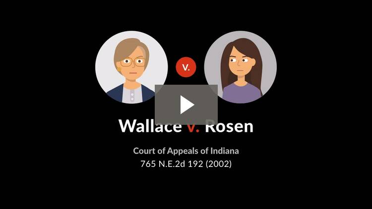 Wallace v. Rosen