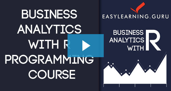 Business Analytics With R Video Image
