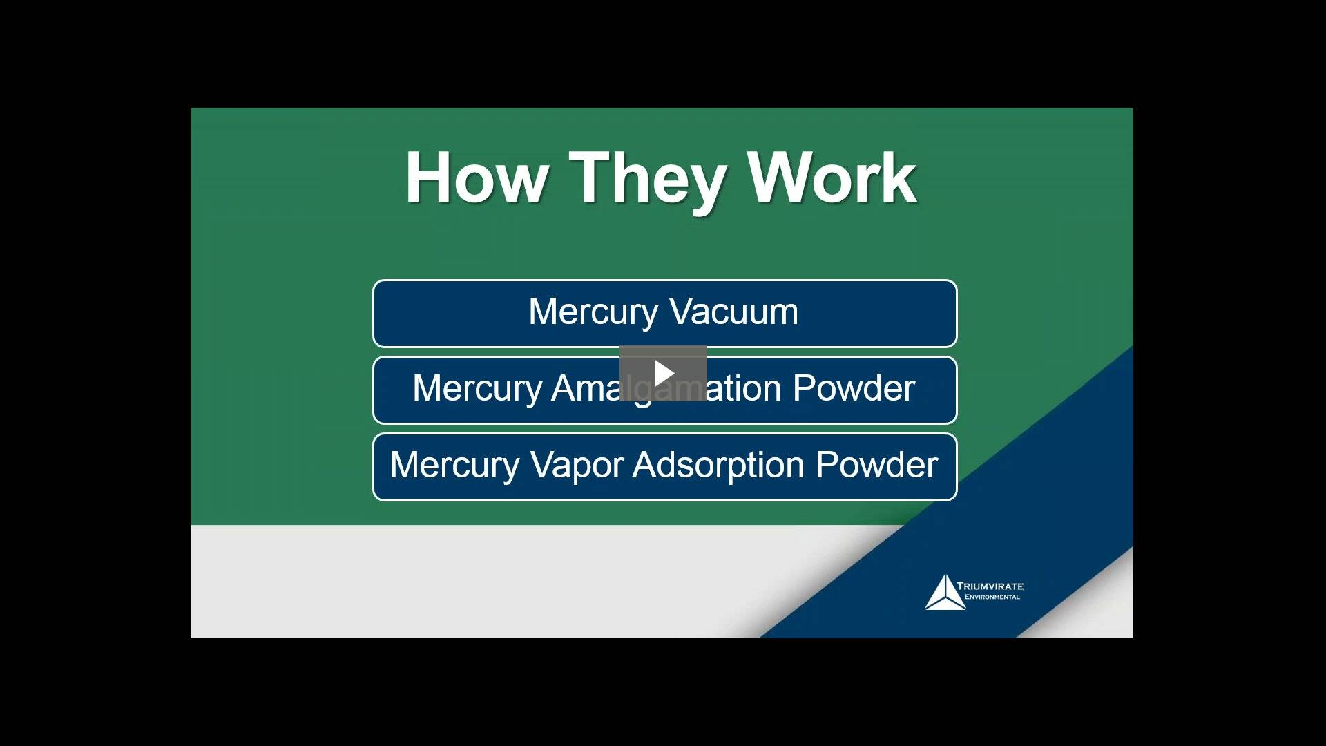 Webinar: Mercury Spills and How You Can Avoid Them