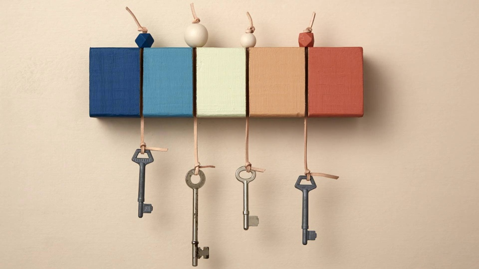 Habitat TV Video: How to make a key holder