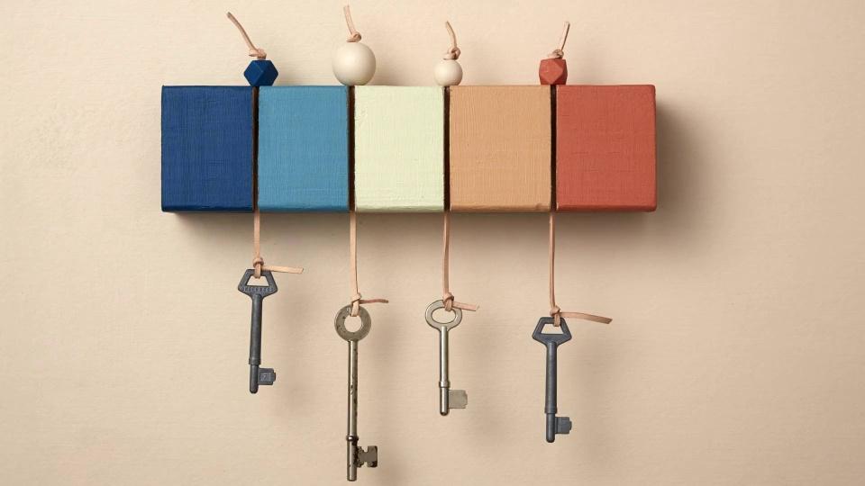 How to make a key holder