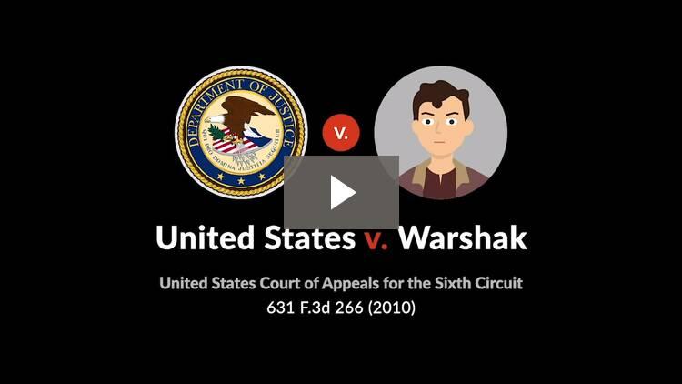 United States v. Warshak