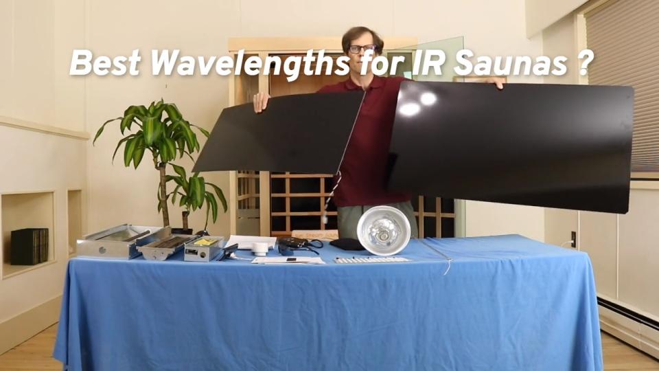 Meilleures longueurs d'onde pour les saunas infrarouges?