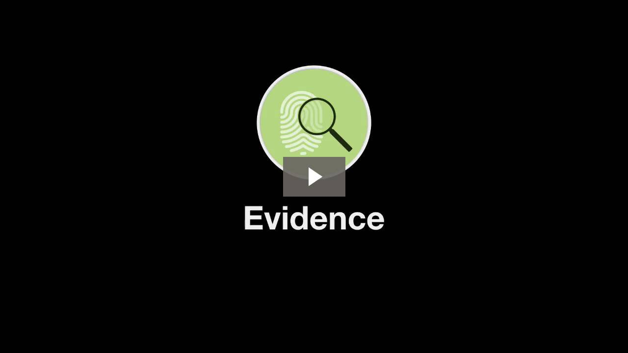 Welcome to Evidence