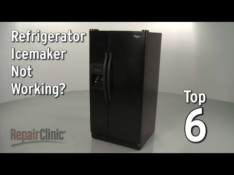 Top 6 Reasons Refrigerator Ice Maker Isn't Working?