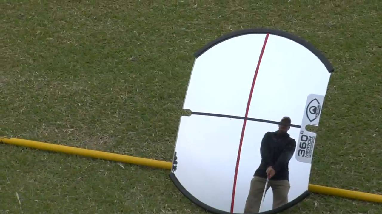 Breaking 90: Chipping 360 Degree Mirror