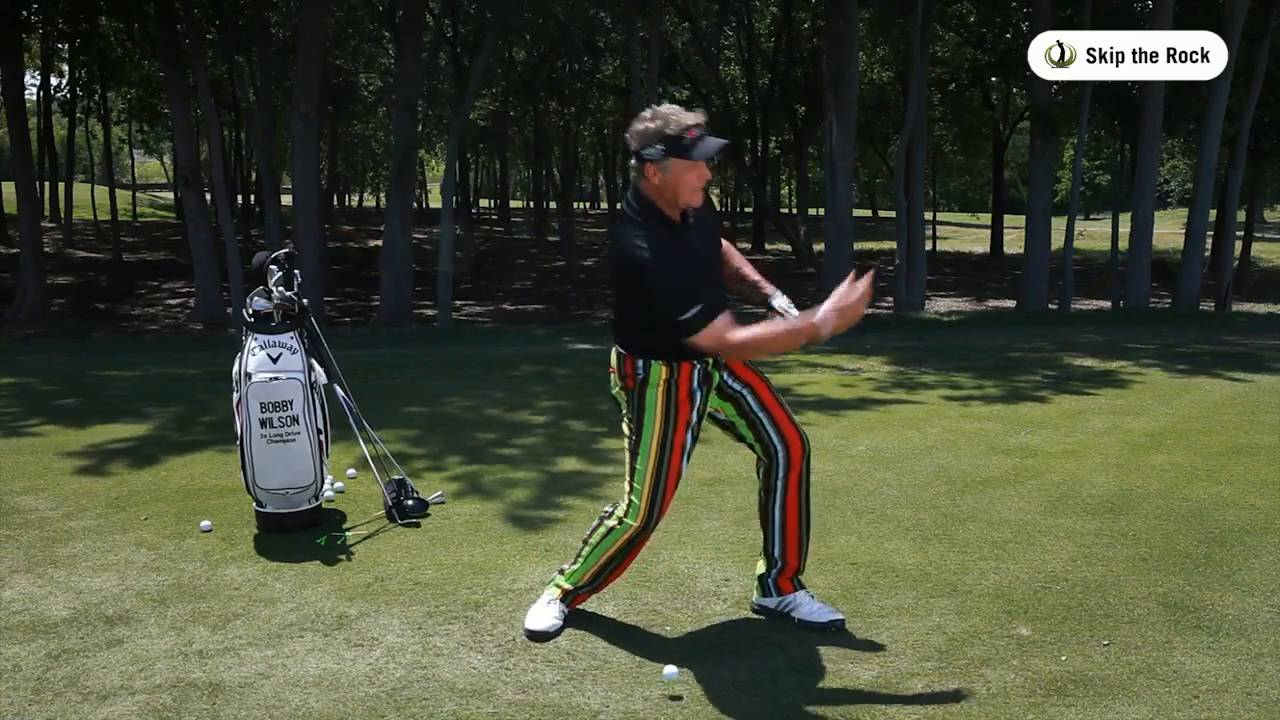 Slide Your Golf Club Through Impact like the Pros