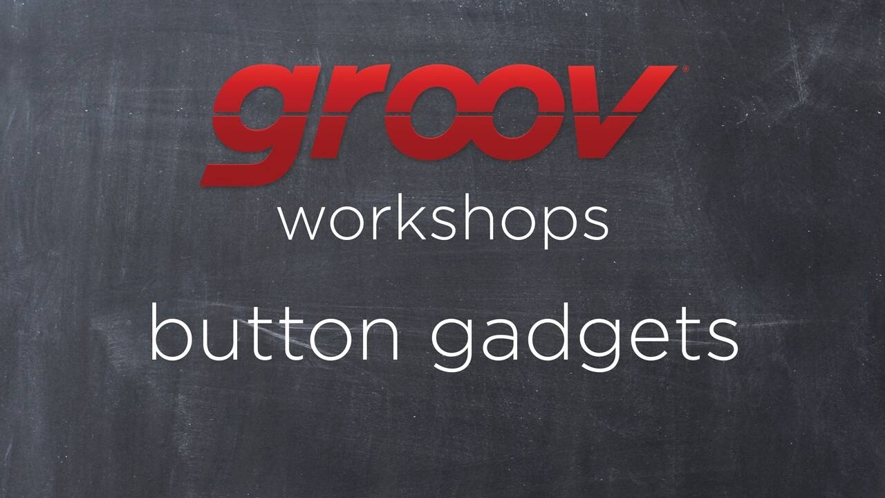 Adding Button gadgets in groov