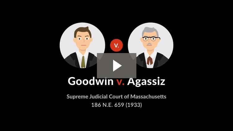 Goodwin v. Agassiz