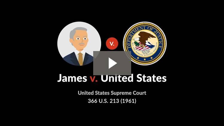 James v. United States