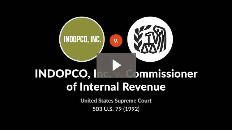 INDOPCO, Inc. v. Commissioner